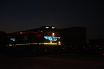 UP 7527 enters the UP Green River Yard at Day Break pulling a Hot Z Train westward.