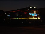 Close Up Shot of UP 7527 as Day Break is right behind her as she enters the UP Green River yard!!!