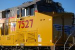 I got Real Close to UP 7527 as  she passed me by heading west out of the UP Green River Depot, Wyoming!!!