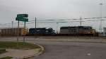 CSX Autorack stopped in Frontier Yard
