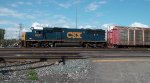 CSX 8627 Switching in Frontier Yard