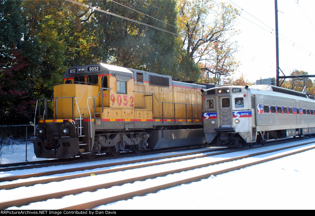 CREX and SEPTA side by side