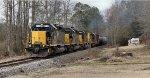 Heavy train heading toward Tuscaloosa