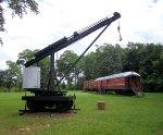 Railroad equipment at museum