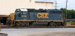 CSX #6355 at the Mechanical Operations Center