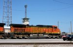 BNSF #5017 at the tower