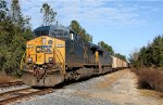 Coal train waiting to head south
