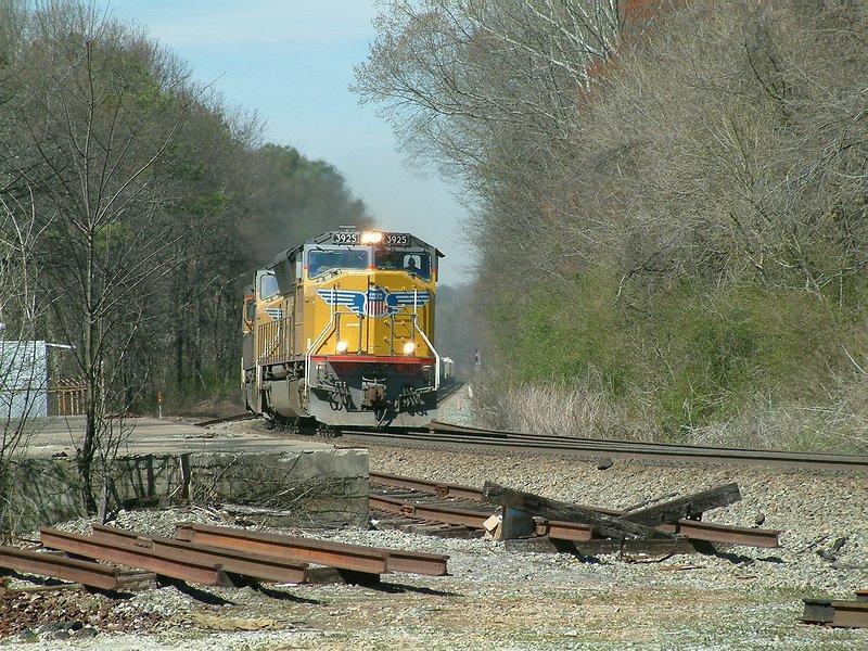 NS Train 226 - The Blue Streak nears its terminal
