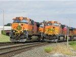 BNSF C44-9Ws 1002 & 5263