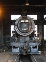GTW 4070 as it currently sits in the roundhouse.
