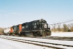 IC GP40 in the snow