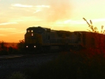 CSX 7824 Q241 catches the morning sun