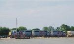 KCS 2841,2979 AND 2962 (GP40-3)