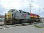 KCS 2028 (GP38-2) AND 2806 (GP40-3)