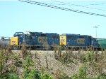 CSX 2553 (GP38-2) AND 6347 (GP40-2)