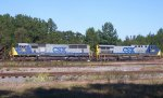 CSX 350 (AC44CW) AND 756 (SD70MAC)