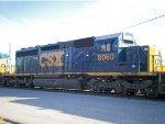CSX 8060 (SD40-2)