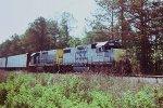 CSX 2502 (GP38-2) AND 2349 (ROAD SLUG)