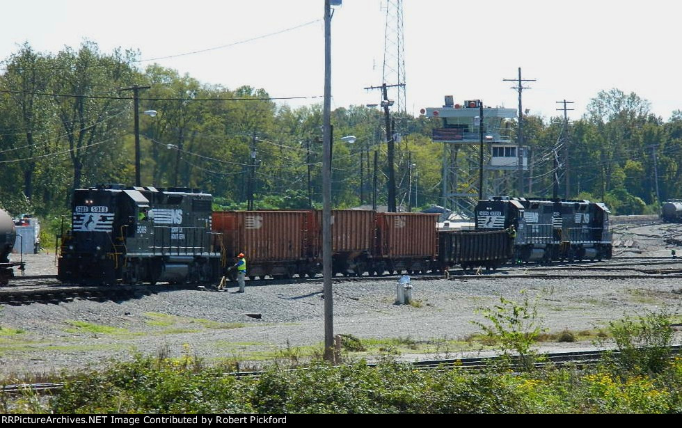 NS 5099,5089 AND 5040 (GP38-2 HIGH HOODS