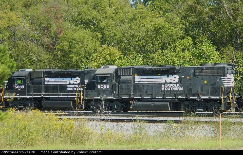 NS 5089 (GP38-2) AND 5099 (GP38-2) HIGH HOODS