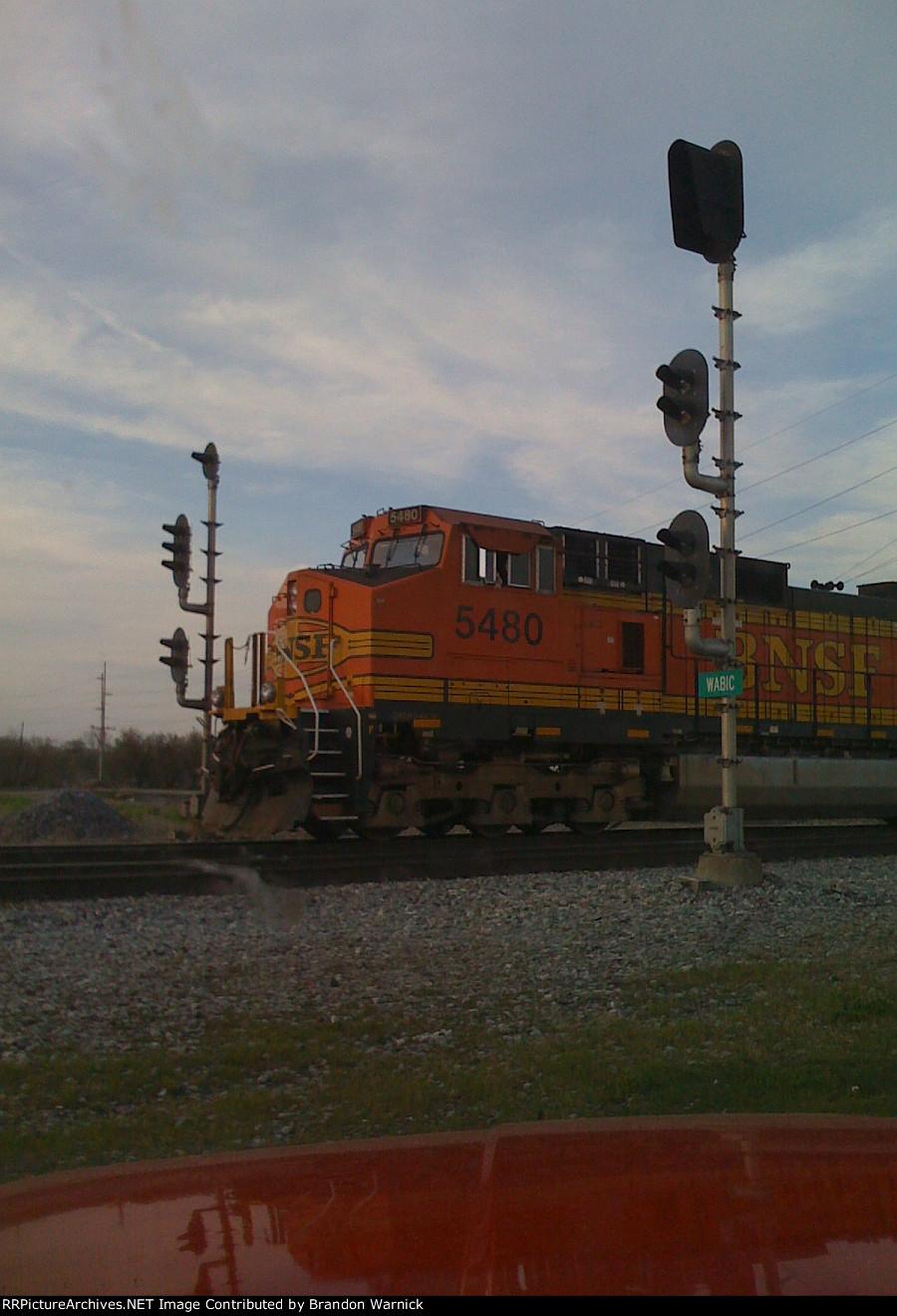 BNSF #5480