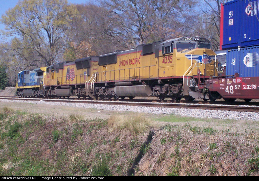 UP 4355 (SD70M)
