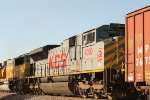 KCS 4020, second unit on UP train QSHAS
