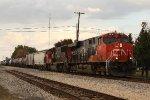 CN 2316, southbound CN train A43291-10