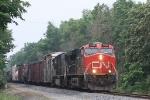 CN 2299, southbound CN train A43291-11