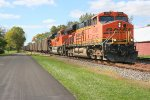 BNSF 5888 with loaded coal train at St. Joe, IN 10/1/2011