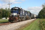 FEC 505 Westbound with CFE mixed freight
