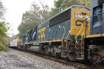 CSX 8571 and 6089