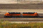 Westbound BNSF Light Engine Movement