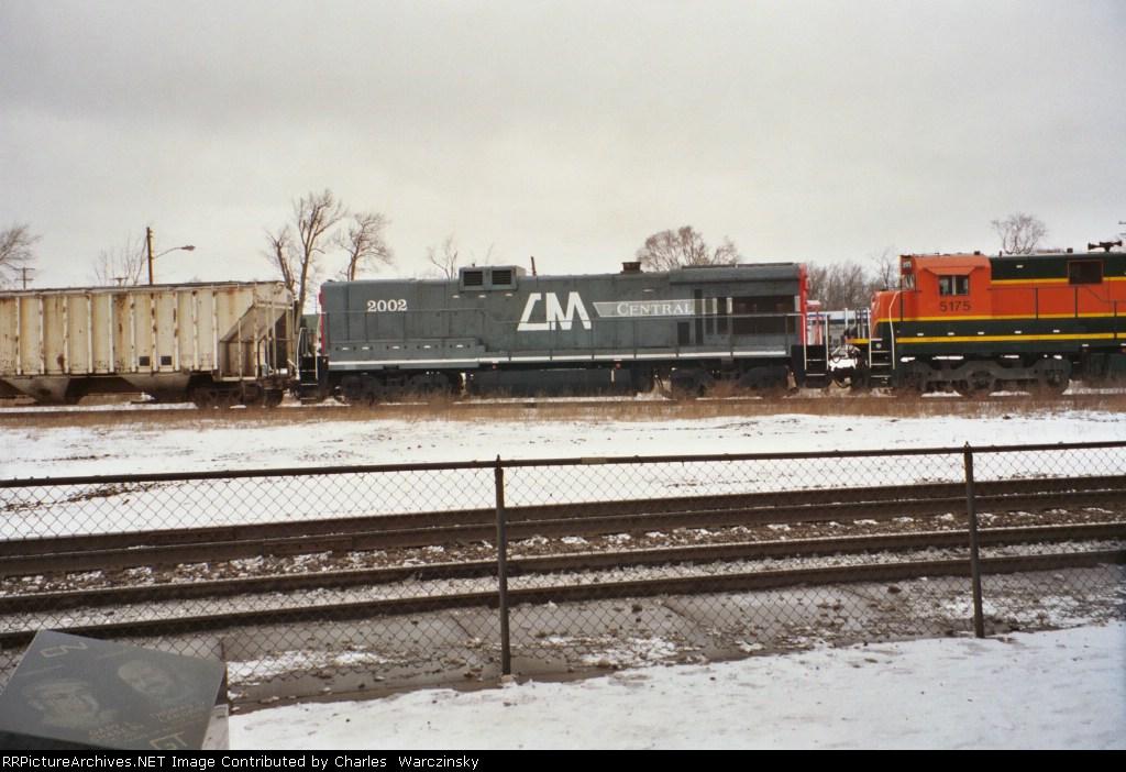 Central Michigan 2002 seen in Durand, Michigan. Winter 2004