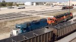 EMDX 826, BNSF 2032 & 2292