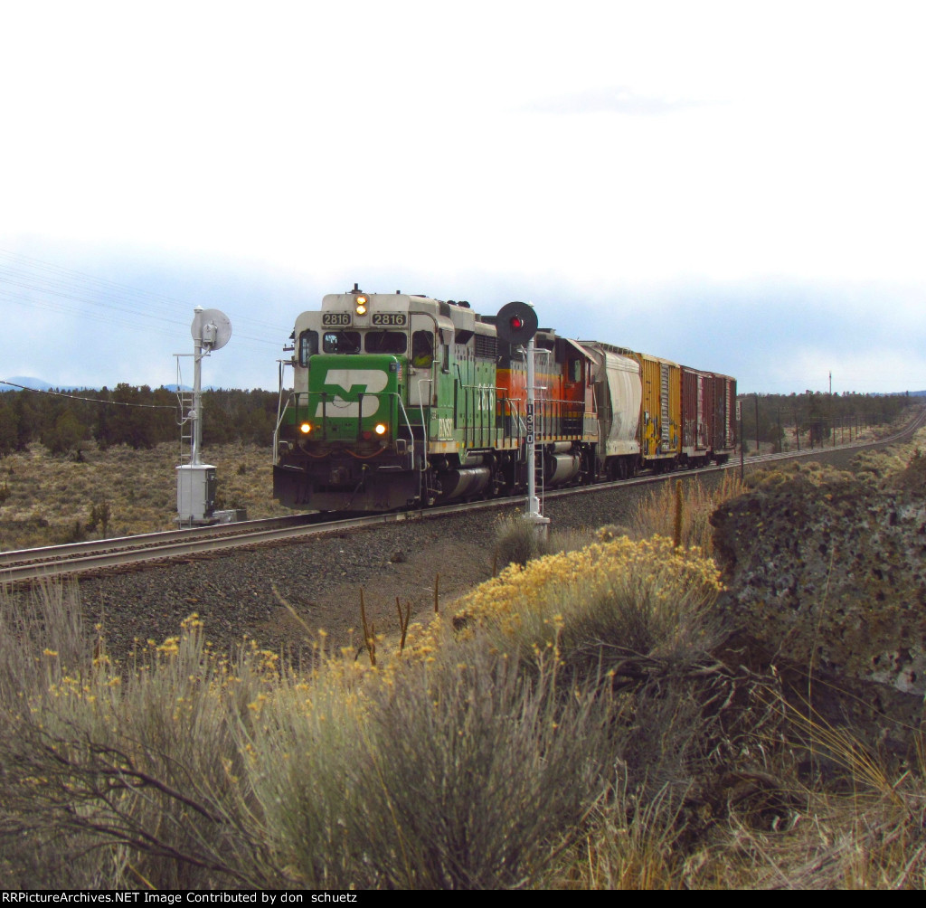 Local on its way to Prinville Jct.