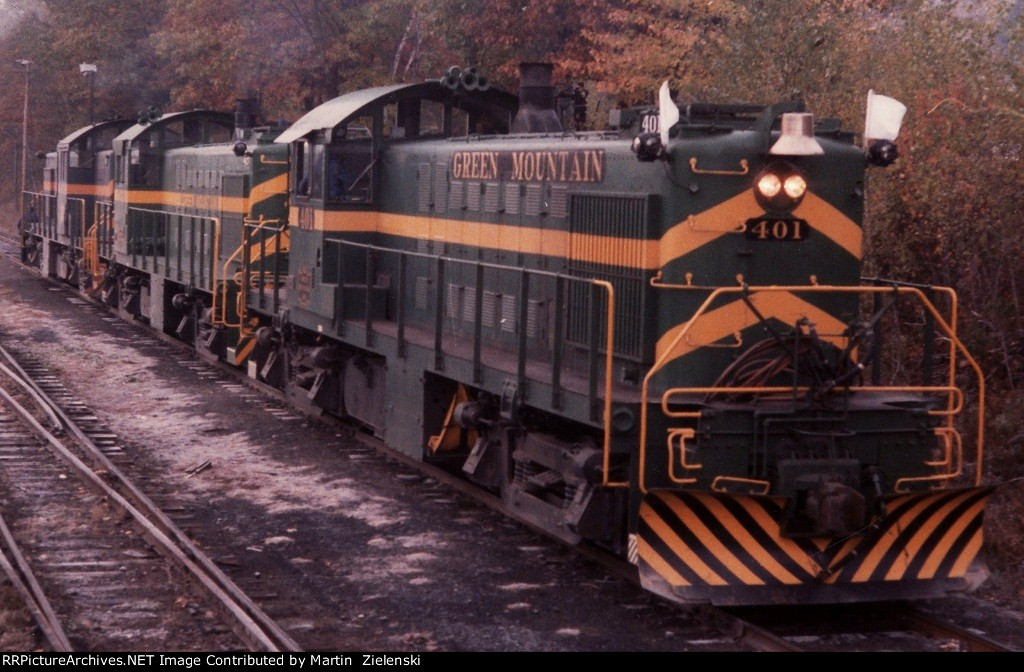 GMRC Alcos at Steamtown