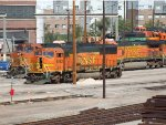 BNSF 8163 - had to post despite poles, as my first H2 SD60M -
