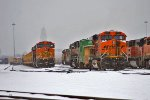 BNSF 5217 and BNSF 6141