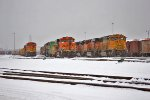 BNSF 5217, 6141, and 8802