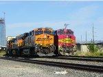 BNSF ES44DC 7434 & BNSF C44-9W 770
