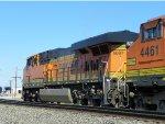 BNSF ES44C4 6687 & BNSF C44-9W 4461