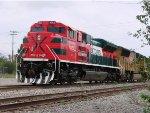 Brand New Ferromex SD70ACe rests in U.P. Nogales, AZ Yard