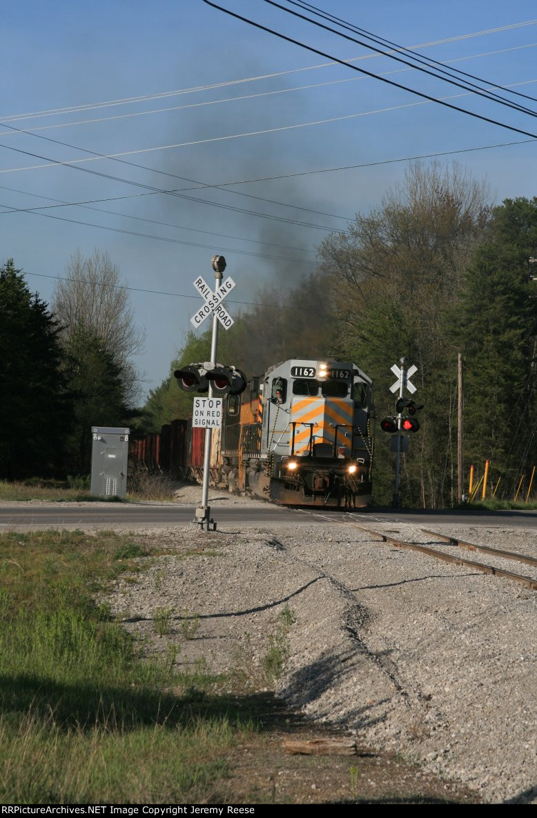 LSRC 1162 competing to replace the Alco's on the LSRC at Werth Rd