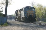 LSRC 1162 backing into the yard