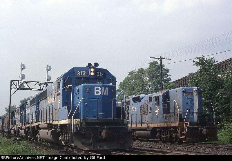 B&M 312 & 1736