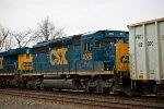 CSX SD40-3 4026