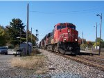 CN Gevo and two SD70M-2s
