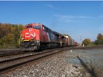 Another CN shows up with a new GEVO and SD70M-2 to boot!