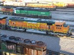 BNSF 8906 and BNSF 8151